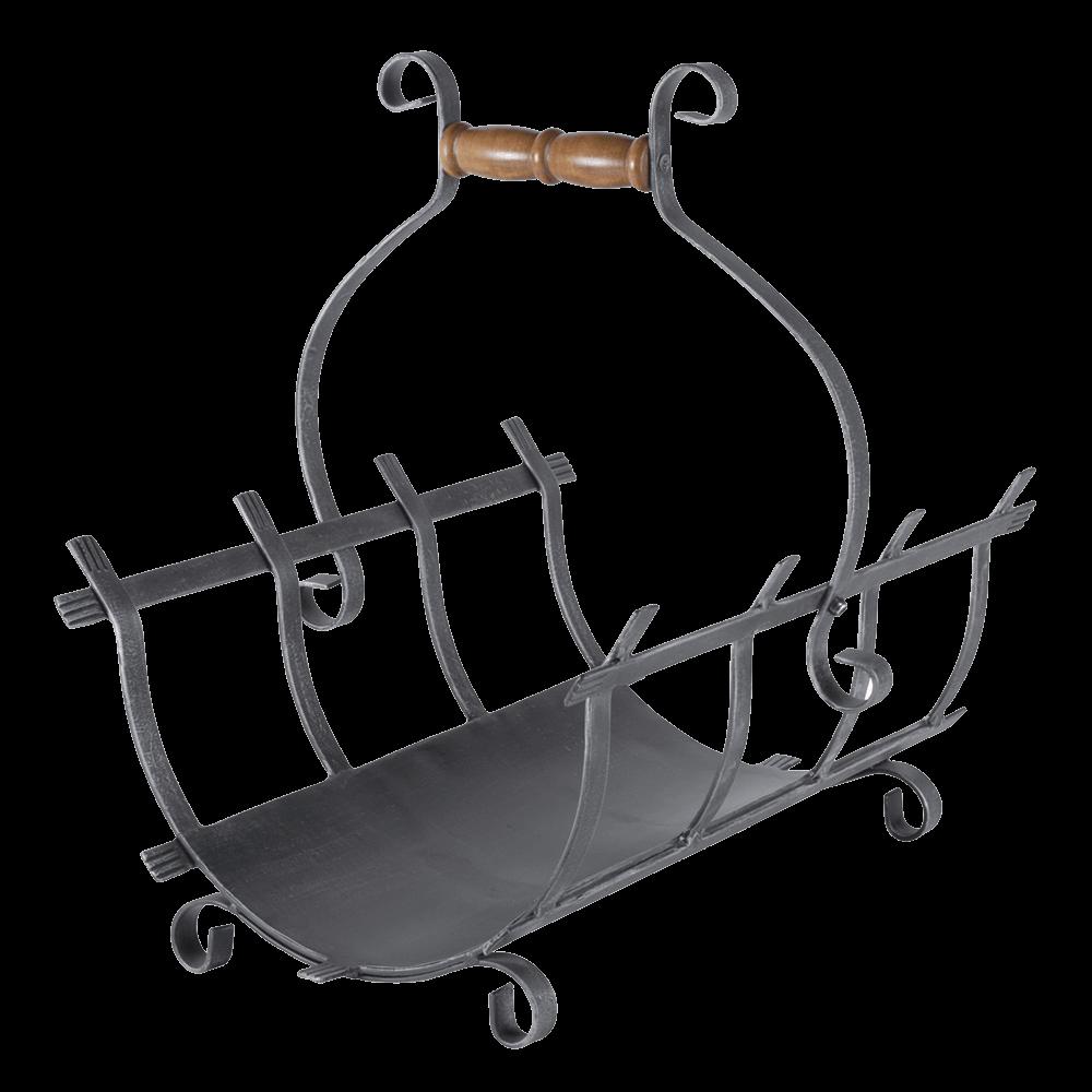 panier b ches en fer forg stovax gazco. Black Bedroom Furniture Sets. Home Design Ideas