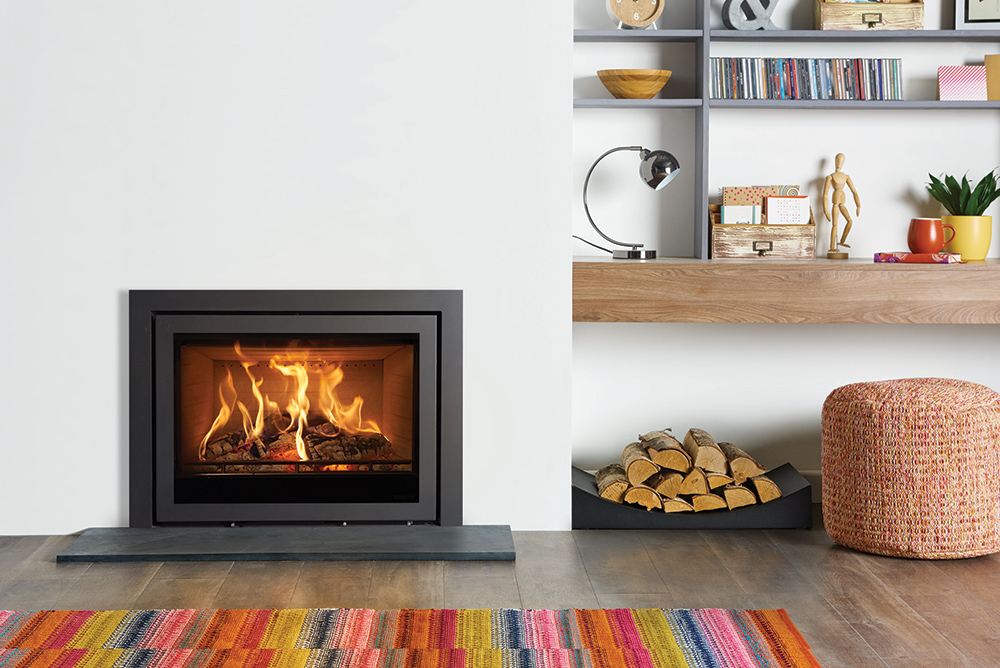 inserts bois multi combustibles elise profil stovax. Black Bedroom Furniture Sets. Home Design Ideas