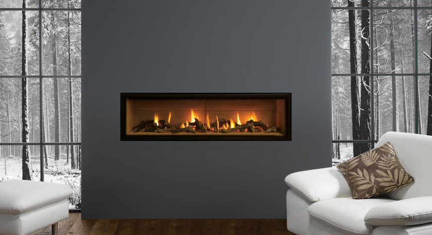 insert gaz studio edge stovax gazco. Black Bedroom Furniture Sets. Home Design Ideas