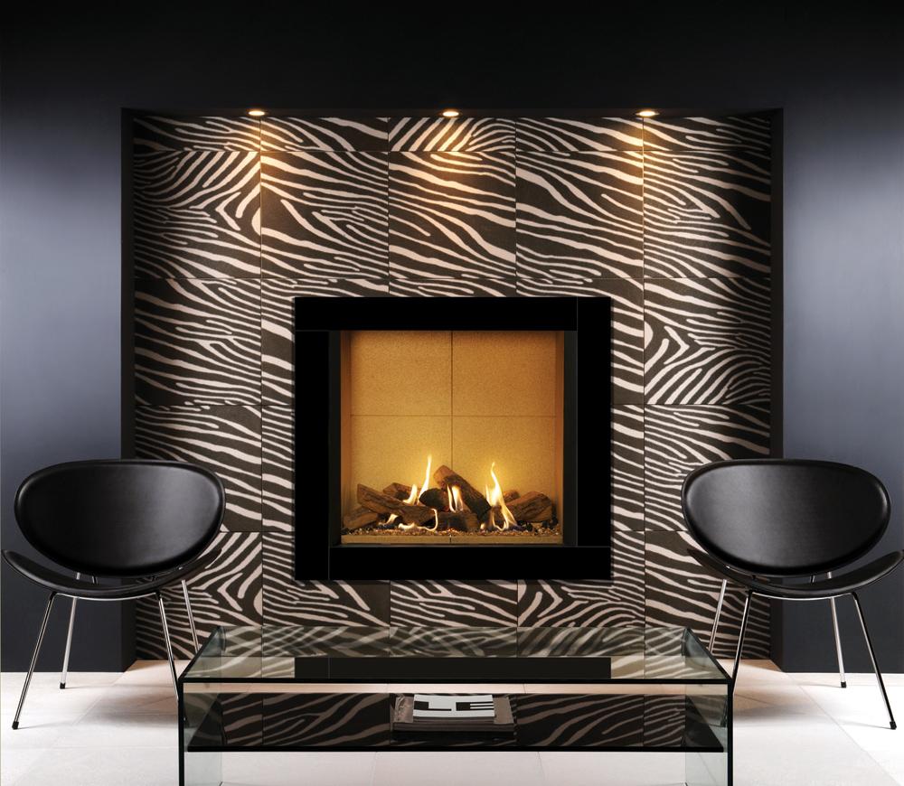 insert gaz riva2 800 icon xs stovax gazco. Black Bedroom Furniture Sets. Home Design Ideas
