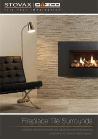 Comment mettre en valeur votre po le bois ou lectrique - Contour de cheminee decoratif ...