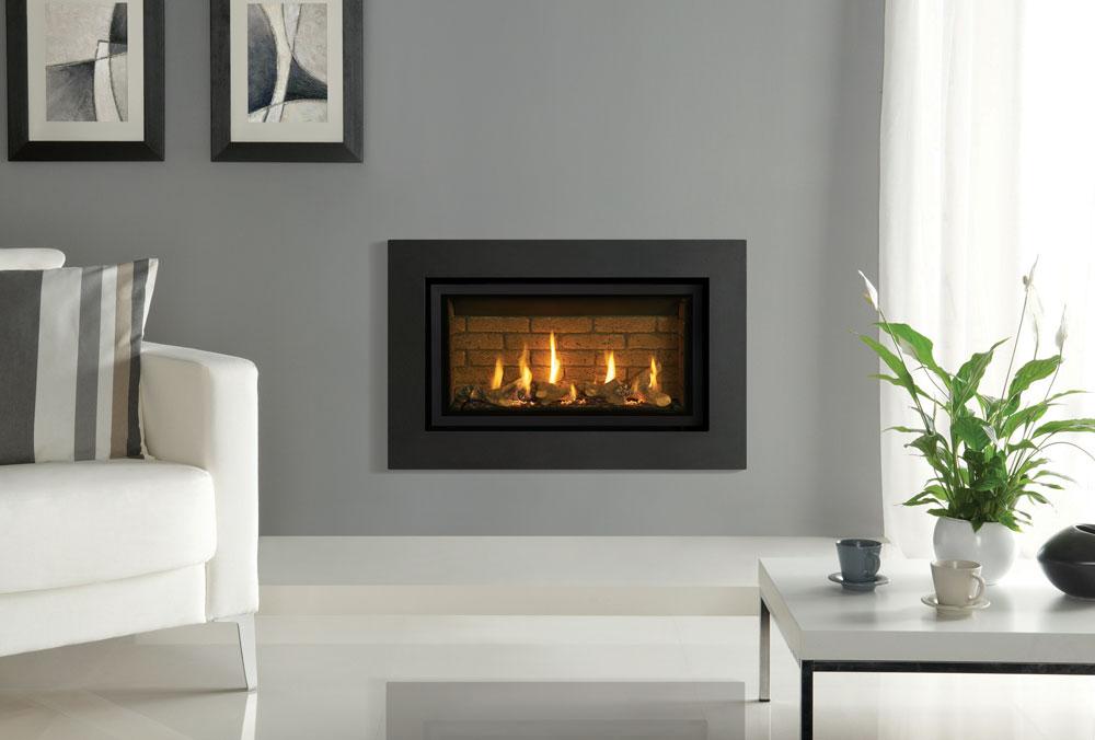 inserts gaz studio slimline stovax gazco. Black Bedroom Furniture Sets. Home Design Ideas