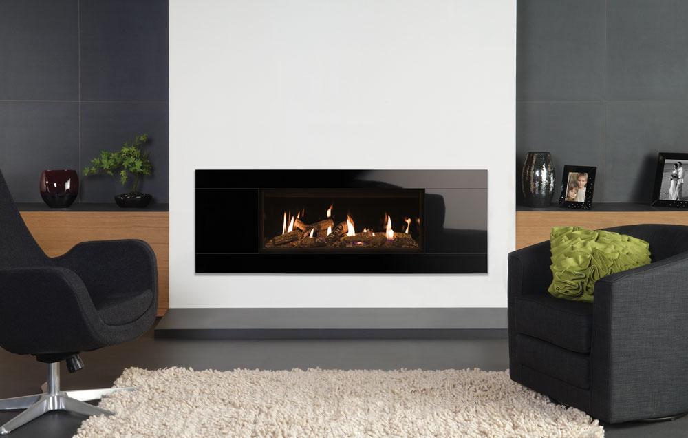 insert gaz studio glass stovax gazco. Black Bedroom Furniture Sets. Home Design Ideas