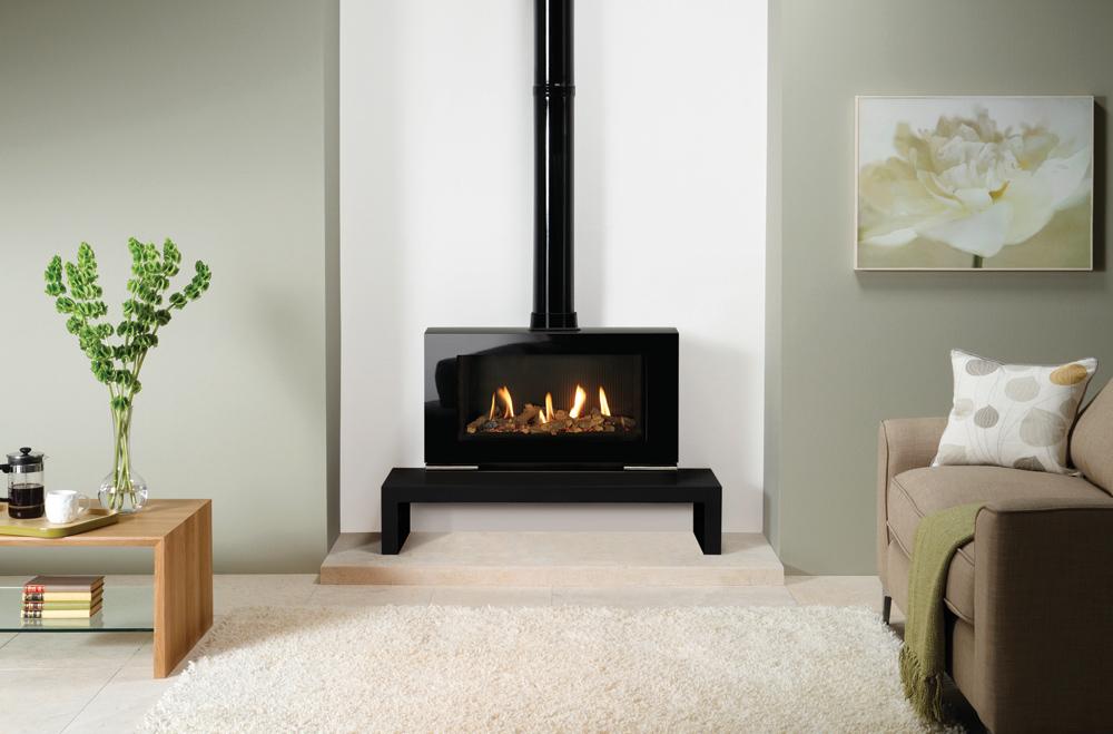 po le gaz vision grand stovax gazco. Black Bedroom Furniture Sets. Home Design Ideas