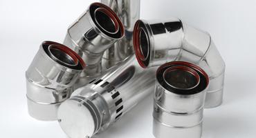 Systèmes de conduits concentriques en acier inoxydable