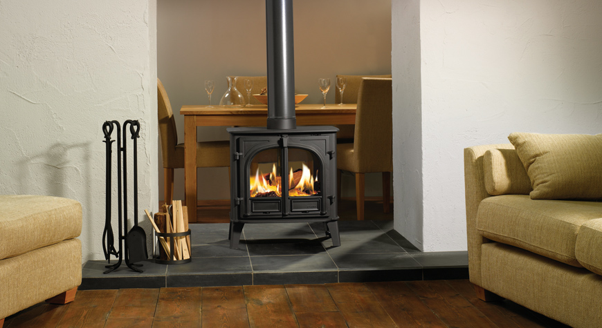 Two Sided Gas Fireplace Inserts