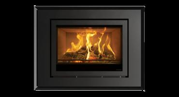 Inserts à bois & multi-combustibles Elise Evoke Steel
