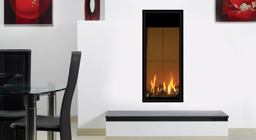 insert gaz studio 22 stovax gazco. Black Bedroom Furniture Sets. Home Design Ideas