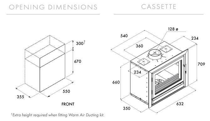 Riva 55 Dimensions