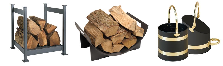 Paniers à bûches & Seaux à charbon