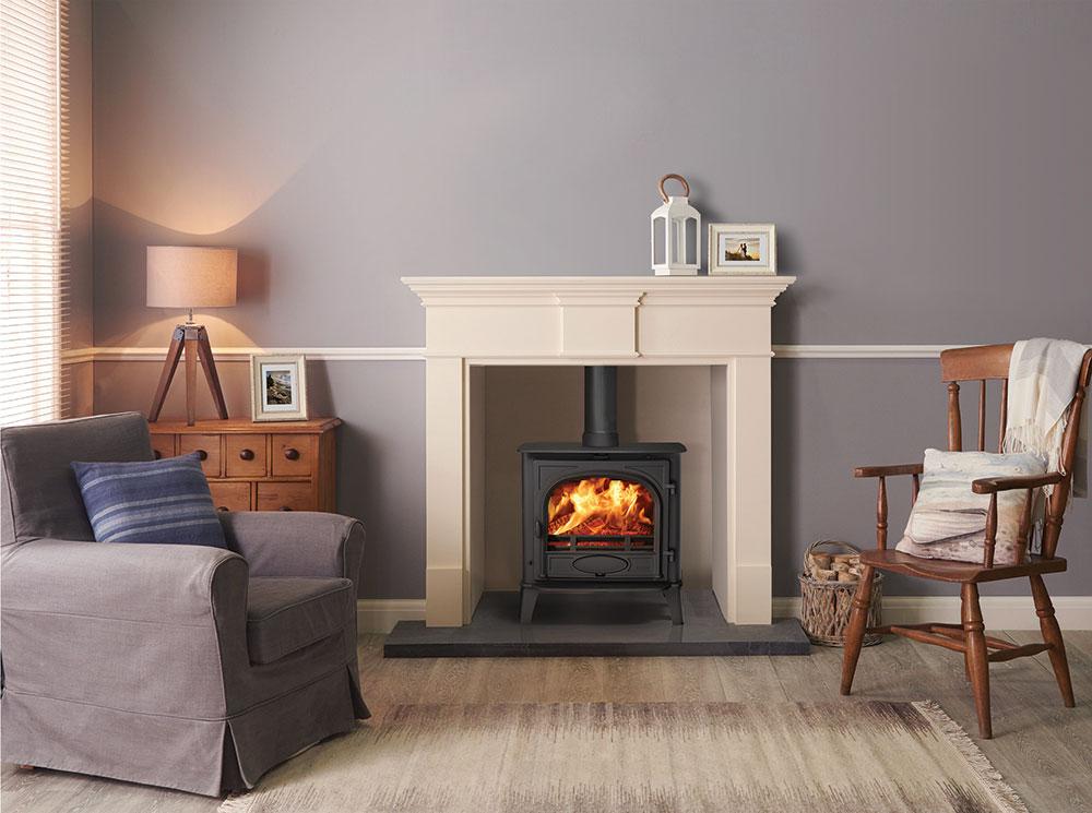 Wood and multi fuel stove Stockton 5 wide