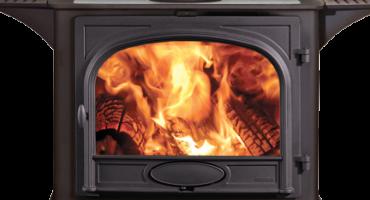 Poêles à bois & multi-combustibles Stockton avec plaques de cuisson