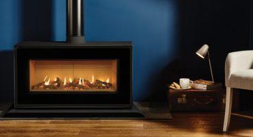 Studio Freestanding de Gazco : Un design tout feu, tout flamme