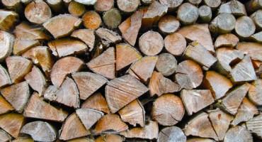 Un bois de chauffage sec et prêt pour combustion