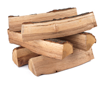 Logs should be seasoned for 2 years or more to achieve a moisture content below 20%