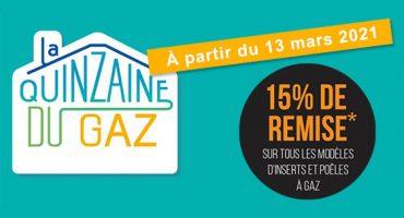 La Quinzaine du GAZ – c'est le moment de réaliser votre projet !