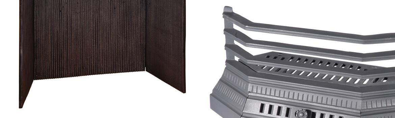Chenets, plaques & grilles de cheminée