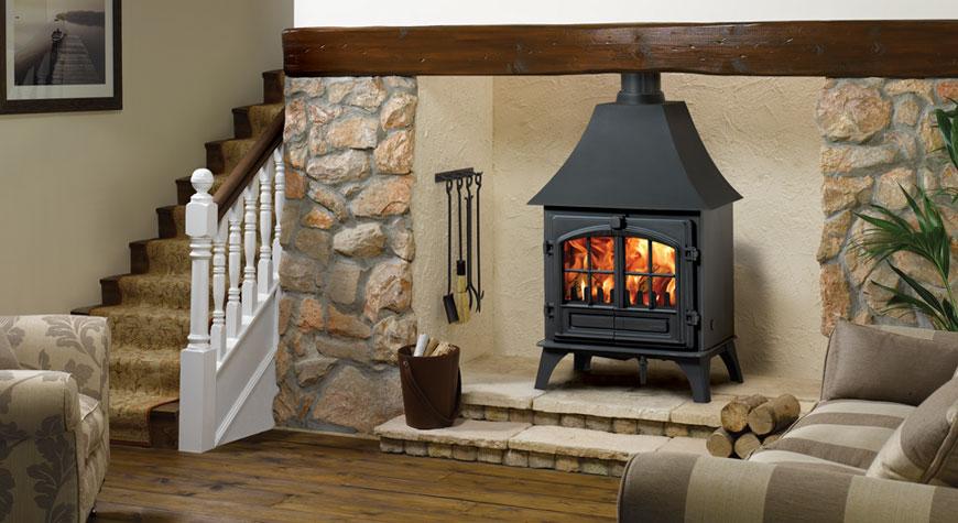 po le bois et multi combustibles riva plus grand stovax. Black Bedroom Furniture Sets. Home Design Ideas