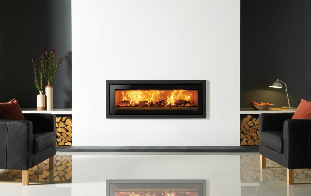 insert bois studio profil stovax gazco. Black Bedroom Furniture Sets. Home Design Ideas