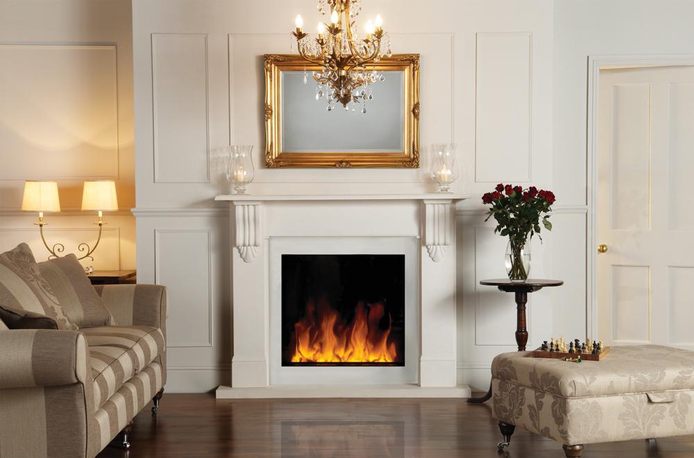 chambranle pour insert lectrique riva2 70 stovax gazco. Black Bedroom Furniture Sets. Home Design Ideas